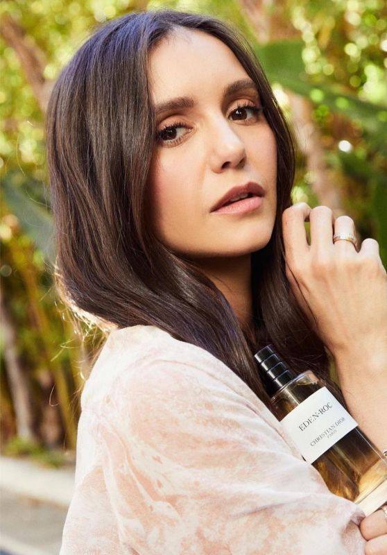 Nina Dobrev – Christian Dior Fragrance Campaign 2021