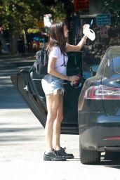 Nina Dobrev - Griffith Park in Los Angeles 08/07/2021