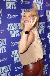 "Olivia Buckland - ""Jersey Boys"" Press Night Performance at the Trafalgar Theatre in London 08/17/2021"