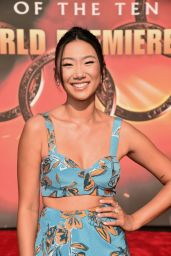 """Olivia Liang – """"Shang-Chi and the Legend of the Ten Rings"""" World Premiere in Los Angeles"""