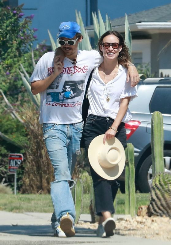 Olivia Wilde and Harry Styles - Out in Los Angeles 08/08/2021