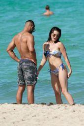 Paris Berelc in a Bikini - Miami 07/31/2021