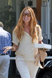 Patsy Palmer - Out in Montecito 08/12/2021