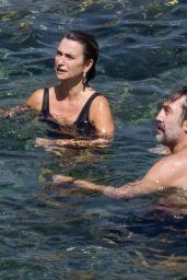 Penelope Cruz in a Swimsuit - Argentario 08/19/2021