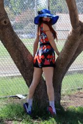 Phoebe Price - Posing at the Park in Los Angeles 08/09/2021