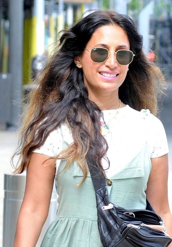 Preeya Kalidas - Arrives For Her Radio Show in Manchester 08/20/2021