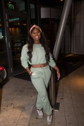 """Priscilla Anyabu and Big T """" - """"MTV The Challenge"""" Episode 1 Exclusive Screening in London 08/16/2021"""