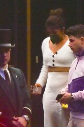 Priyanka Chopra and Nick Jonas – Leaving the Dorchester Hotel in London 08/03/2021