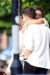 Priyanka Chopra and Nick Jonas - London 08/14/2021