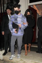 Priyanka Chopra and Nick Jonas - Out in London 08/06/2021