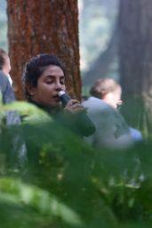 "Priyanka Chopra - ""Citadel"" Set in Awscot 08/25/2021"