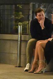 Rachel Fenton - Outside Nobu Restaurant in London 08/10/2021