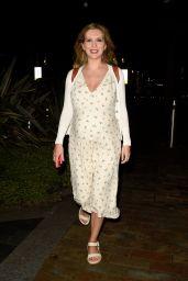 Rachel Riley - Leaves Countdown Filming at Media City in Salford 08/16/2021