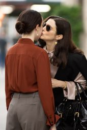 "Rachel Weisz and Kitty Hawthorne - ""Dead Ringers"" Set in New York 08/09/2021"