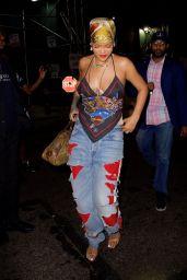 Rihanna - Night Out in NY 08/12/2021