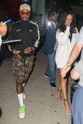 Rihanna Night Out Style - New York 08/02/2021