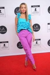Rita Ora - 26th Annual LA Art Show Opening Night Gala