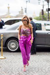 Rita Ora - Out in Paris 08/06/2021
