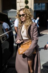 Rita Ora - Photoshoot in Paris 08/11/2021