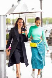 Rita Ora Street Style - Shopping With Her Sister Elena in Paris 08/09/2021