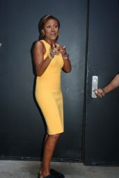 Robin Roberts on the Set of ABC Studios in New York 08/03/2021