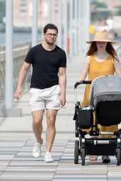 Rose Leslie and Kit Harington - Out in New York 08/08/2021