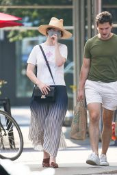 Rose Leslie - Out in New York 08/26/2021
