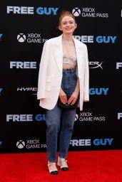 """Sadie Sink – """"Free Guy"""" Premiere in NYC"""