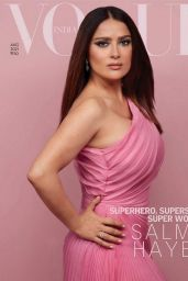 Salma Hayek - Vogue India August 2021 Issue