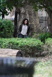 "Sandra Oh - ""Killing Eve"" Season 4 Set in London 08/17/2021"