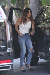 Sarah Shahi Street Style - Los Angeles 08/02/2021