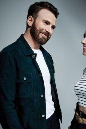 Scarlett Johansson and Chris Evans - Photoshoot for Variety 2019