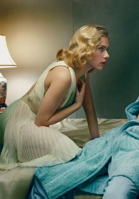 Scarlett Johansson - Annie Leibowitz Photoshoot for Vogue 2013