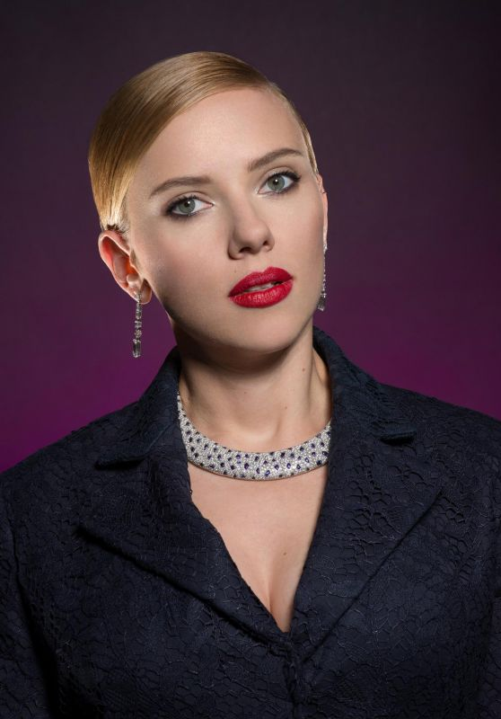 Scarlett Johansson - César Awards Portraits 2014