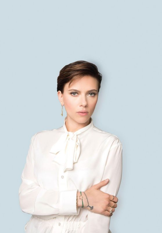Scarlett Johansson - Photoshoot for The Times 2018