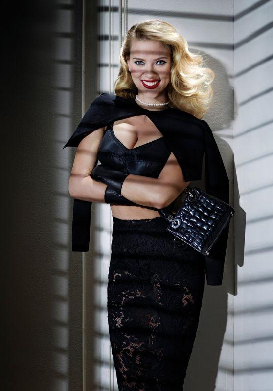 Scarlett Johansson - Photoshoot for V Magazine 2012