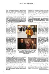 Selena Gomez - Grazia Italy 08/25/2021 Issue