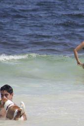 Shanina Shaik in a Bikini in Tulum 08/14/2021