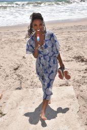 Shanola Hampton at the Beach in Malibu 08/03/2021