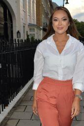 Sharon Gaffka at Ours Restaurant in Kensington 08/15/2021