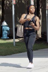 Simone Biles - Out in Spring, Texas 08/07/2021