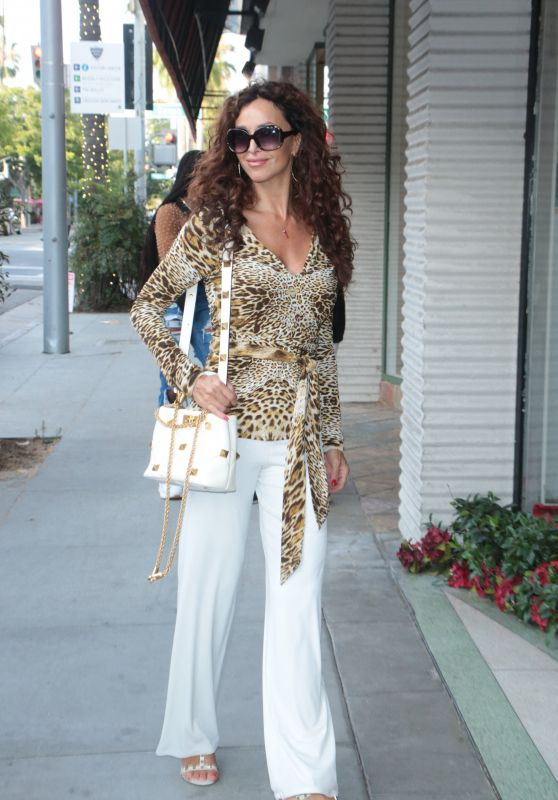 Sofia Milos - Out in Los Angeles 07/30/2021