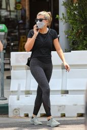 Sofia Richie at Croft Cafe in Beverly Hills 08/16/2021
