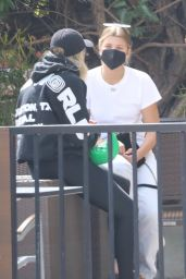 Sofia Richie in Casual Outfit - West Hollywood 08/30/2021