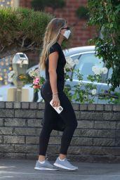 Sofia Richie in Leggings - Shopping at XIV Karats Ltd in Beverly Hills 08/09/2021