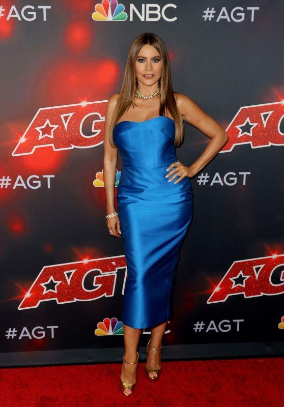 "Sofía Vergara – ""America's Got Talent"" Season 16 in Hollywood 08/24/2021"