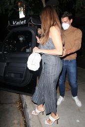Sofia Vergara at Soulmate Restaurant in Hollywood 08/14/2021
