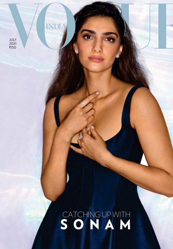 Sonam Kapoor - Vogue India August 2021 Issue