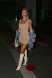 Stefanie Gurzanski Night Out Style - BOA Steakhouse in West Hollywood 08/21/2021