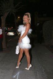 Stefanie Gurzanski Night Out Style - Delilahs Restaurant in West Hollywood 08/22/2021